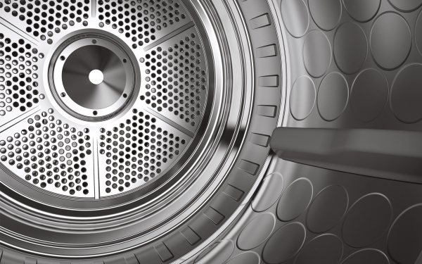 High quality dryers from ASKO made of stainless steel will last longer.