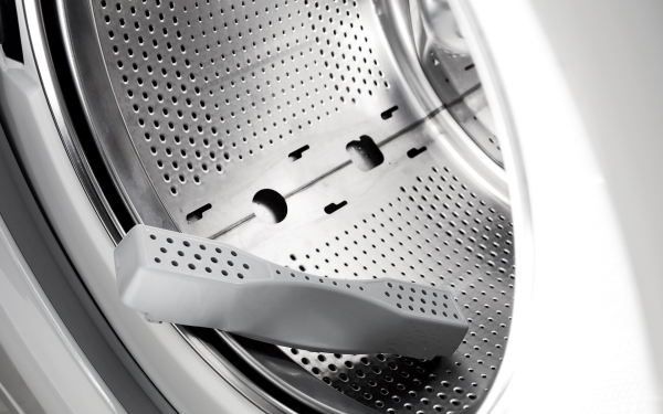 ASKO washing machines have removable lifters.