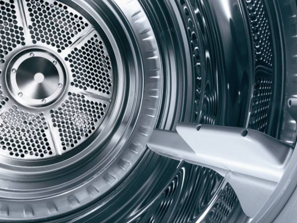Asko dryers tumble in a figure eight