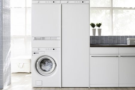 Asko washer, dryer and drying cabinet