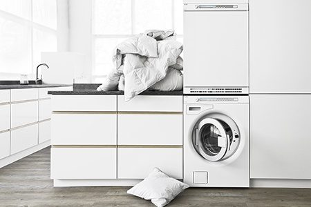 Wash more in an Asko 10kg front loading washing machine