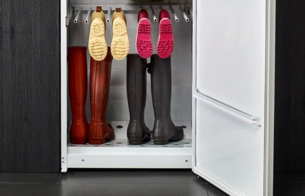 A Practical Shoe Rack Is Available To Dry All Kinds Of Shoes Equally  Including Rubber, Leather And Suede Shoes. The Door Of The Drying Cabinet  Houses An ...