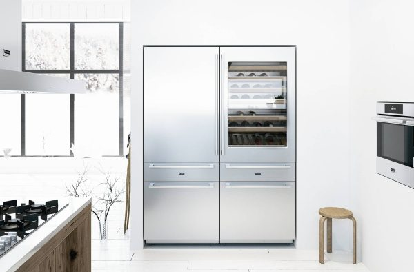 ASKO Fridge in a designer kitchen