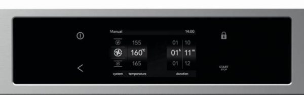 Series 7 oven display