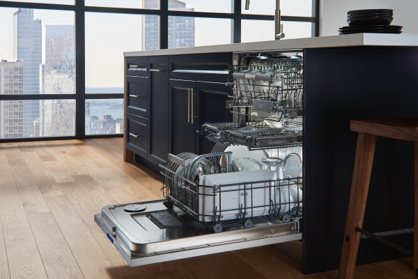 ASKO ADA compliant and XXL dishwasher have the largest capacity on the market.