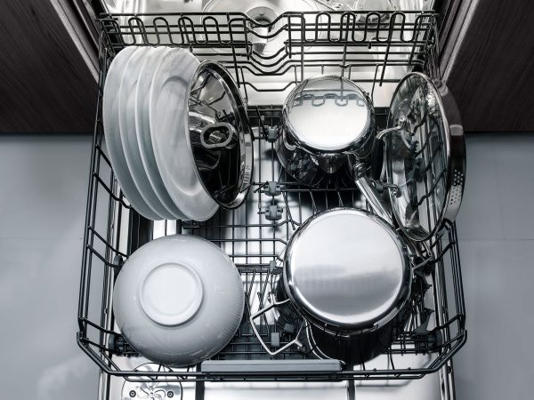 Half load program in dishwasher from ASKO