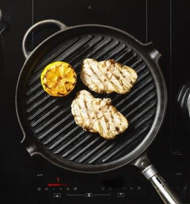 Asko cooktop grilling function