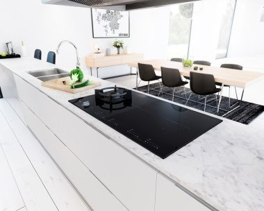 Duo Fusion in marble kitchen