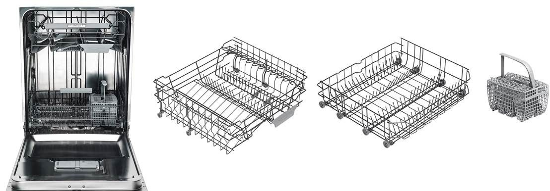 Asko series 6 dishwashers standard baskets