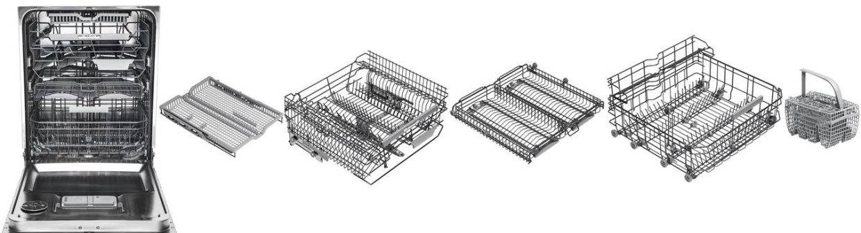 Asko series 6 dishwasher with 5 exclusive baskets