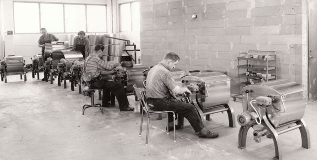 ASKO production line in the 50's
