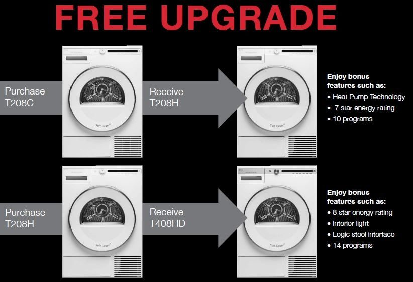 ASKO Free Upgrade Washer