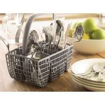 Loaded cutlery basket