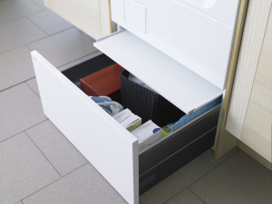 Hidden Helper Pedestal Drawer