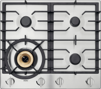 HG1666SD Stainless Steel Gas Cooktop 60 cm
