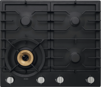 HG1666AD Graphite Black Gas Cooktop 60 cm