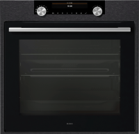 OP8687B Craft Pyrolytic Oven, Black Steel