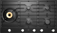 HG1986AD 90cm Gas Cooktop Anthracite