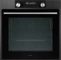 OP8637A Icon Pyrolytic Oven, Anthracite