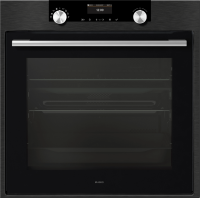 OP8664B Craft Pyrolytic Oven, Black Steel