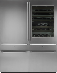 RWF2826S 445 Litre Wine Fridge and Freezer, Pro Series