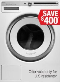 Logic Washer White W4114CW