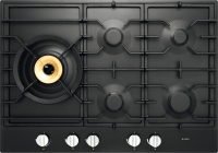 HG1776AD Graphite Black Gas Cooktop 75 cm