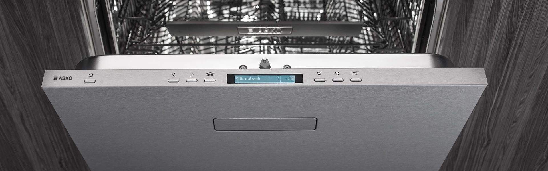 Full range of built-in dishwashers from Asko Appliances for your kitchen.